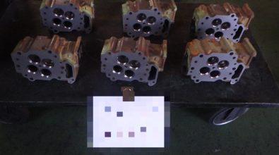 シリンダーヘッド 平面研磨加工 その2
