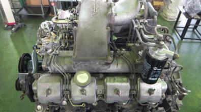 UDディーゼルエンジンの定期整備事例