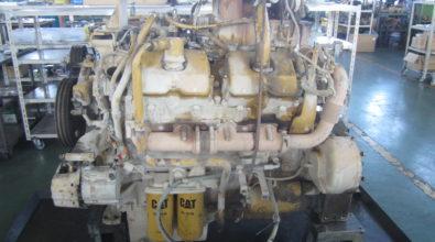 キャタピラー ディーゼルエンジンの整備事例