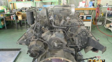 UDディーゼルエンジンの定期整備事例 その2