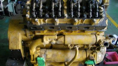 キャタピラー ディーゼルエンジンの整備事例 その2