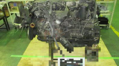 三菱ふそうディーゼルエンジン整備