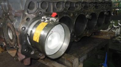 三菱ふそうディーゼルエンジン 部品交換メンテ事例