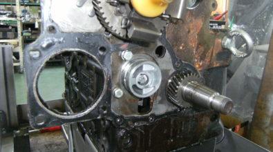 パーキンスエンジン整備