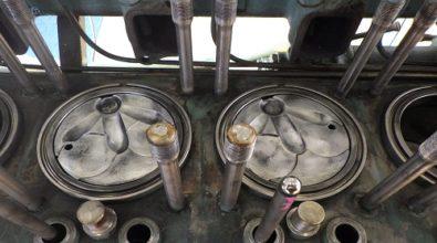 排水機場ポンプ エンジンオーバーホール