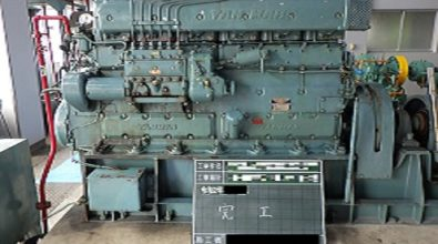 排水機場ポンプ エンジンオーバーホール その2