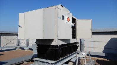 特別養護老人ホーム 非常用発電機(AP115C-6S)無償点検