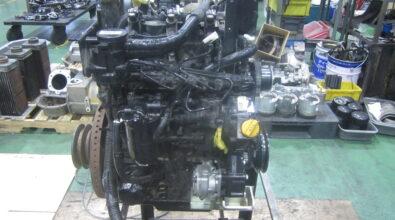 IHIシバウラ(パーキンス)N3LDIエンジン整備