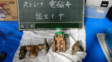 消火ポンプ用エンジン(S16N-PTK) 電磁弁交換 その2