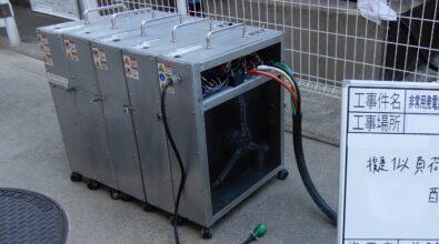 非常用発電機(AP115B) 擬似負荷試験