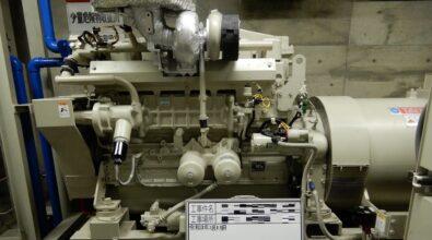 非常用発電装置(S6B-PTK)第四種点検&総合消防点検