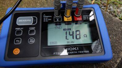 非常用発電装置 台風シーズン前の巡回点検 その2