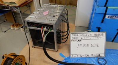 非常用発電装置(PX-95ESR(BB)) 擬似負荷運転